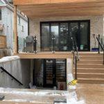 frameless glass railings toronto