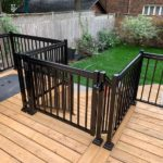 picket balcony railings toronto