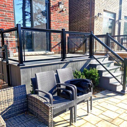 balcony railings canada